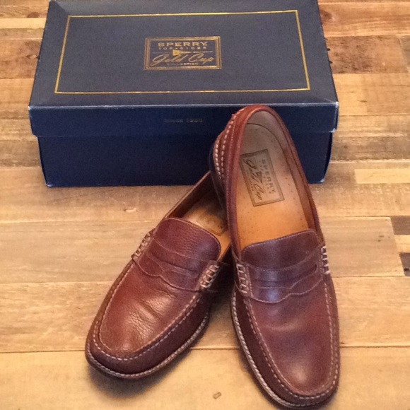 e0cf7580498 Sperry Gold Cup Loafer Penny Moc. M 5adbc9f7caab44bab22d9979